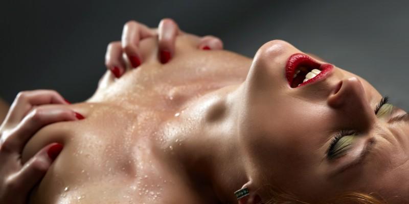 Erotische Pose