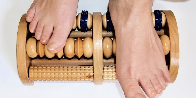 Füße selbst massieren